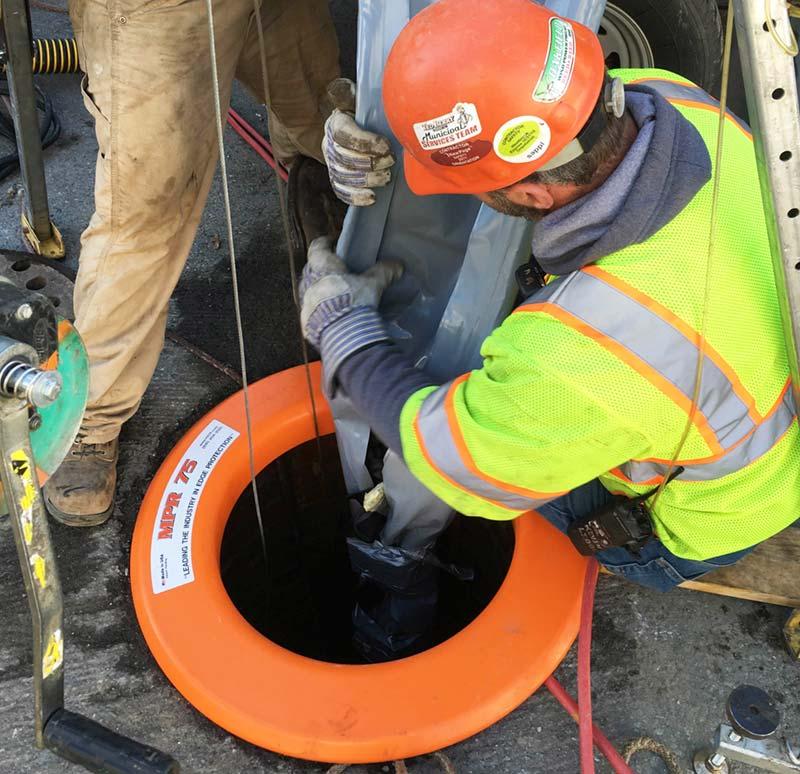 MPR75 - manhole edge protection ring