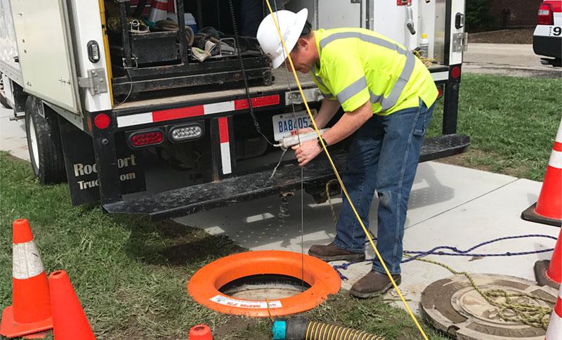 manhole edge protection